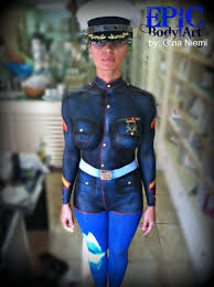 Say Body Clothing Paint Amazing Fantasy To Uniform Paint The Marine Painting amazing Hot Least Art Fest Art
