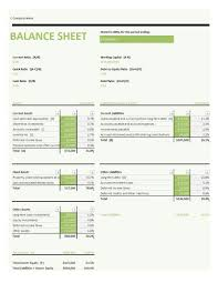 simple balance sheet example 38 free balance sheet templates examples template lab