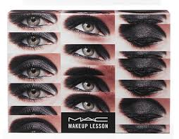 mac cinematics collection black and brown smokey eyes kit swatches
