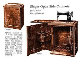 you ll probably be surprised to hear that over a century ago the largest furniture manufacturer in the world was the singer sewing machine pany