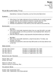 Functional Resume Format Bravebtr