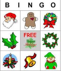 Free  Printable Christmas Bingo Cards for a Family Fun Night  DLTK     S Custom Christmas Bingo Pinterest