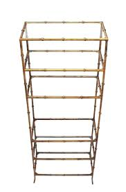 what is an glass bookcase pottery barn metal modern shelving unit lack etagere floor lamp instructions