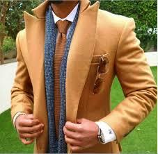 Latest Blazer Designs 2018 2018 Latest Coat Pant Designs Tan Brown Tweed Men Suit Slim