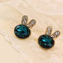 diy ear jewelry accessories earrings pendant material korean temperament mermaid teardrop light square round 10pcs