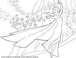 Small Picture Frozen Coloring Pages Elsa diaetme