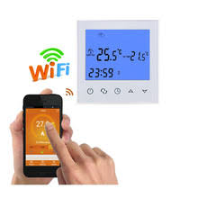 WiFi Thermostat Remote Control for Electric Floor Heating 12/16A Underfloor  Infrared Heater Temperature Control by Phone