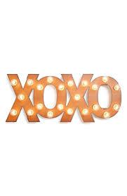 XOXO   Marquee lights