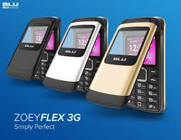 New BLU Zoey Flex 3G Android Phone ...