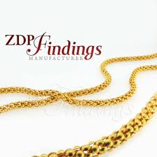 10mm round snake chain ornament gold chain