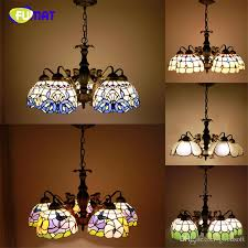 Discount Tiffany 5 Lights Pendant Lamp Vintage Antique Stained Glass  Suspension Lights Mermaind Body Baroque Restaurant Kitchen Hotel Project  Lights Hanging ...