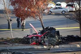 should the porsche that killed fast furious paul walker be on tragic the aftermath of the car crash that killed paul walker showed the vehicle to