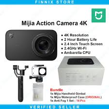 Xiaomi <b>Mijia</b> Action Cam Camera 4k Bundle <b>Mijia Waterproof Case</b> ...