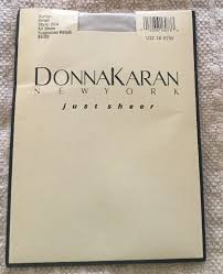 Donna Karan Tights Size Chart Donna Karan New York Just Sheer Burlap Pantyhose S 224 Bw