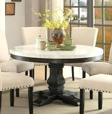 black wooden round dining table medium size of dining round pedestal dining table white marble top