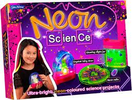<b>Набор для</b> экспериментов <b>John Adams</b> Неон и Наука