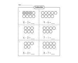 Subtraction Problems For Kindergarten Subtraction Worksheet ...