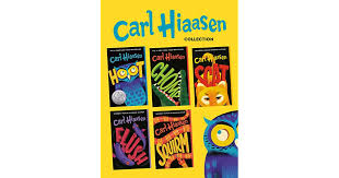 Carl Hiaasen 5-Book Collection: Hoot; Flush; Scat; Chomp; Squirm by Carl  Hiaasen