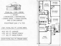 under SQ bedroom House Plans Story  Bedroom  Bathroom  Dining Area  Family Room
