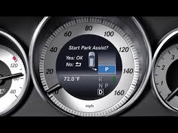 This is the video for you. 2015 Mercedes E Class Active Park Assist Parallel Park Youtube