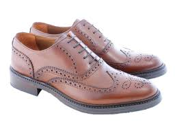 classic italian leather brogues for men classic lace up shoes 1
