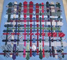 Artful Ties & Unique pattern (click on image to enlarge) that was in a quilt show in  Hemet, 2008, called