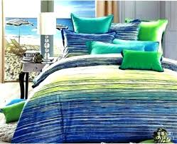 lime green bedspreads and blue bedding cotton striped quilted bed throw