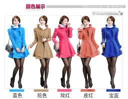 b1417 korea pretty winter coat 5 colors available
