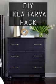 transforming ikea furniture. Check Out This Beautiful DIY IKEA TARVA Hack! Transform Inexpensive Piece Of Furniture For Transforming Ikea