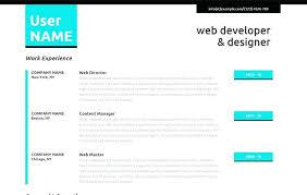 Muse Website Templates Beauteous Resume Website Template Personal Resume Website Templates Free