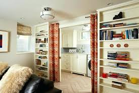basement curtain ideas. Plain Ideas Laundry Room Curtain Ideas White  Curtains With Vintage Rods Basement Window Well  On