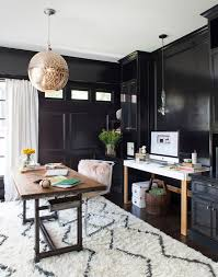 modern moroccan decor home office transitional with chic