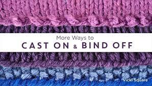 Bind Off In Pattern