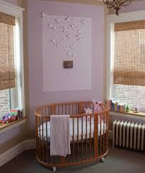 round crib 17 adorable nursery designs