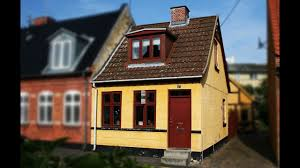 Small Townhouse Design This Is Small Townhouse In The Danish Port Town Of Holbk