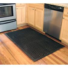 Kitchen Rubber Floor Mats Buffalo Tools 36 In X 60 In Anti Fatigue Rubber Flat Mat Rmat35