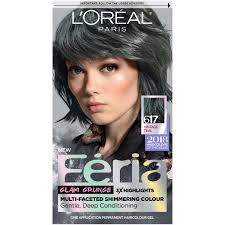 Loreal Paris Feria Permanent Hair Color 617 Vintage Teal Walmart Com