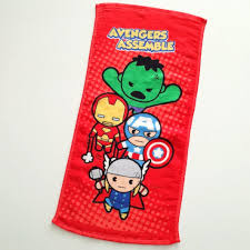 Personalized Superheroes Personalized Marvel Avengers Superheroes Hand Towel