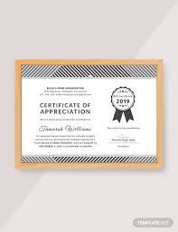 Certificate Of Appreciation Templates Free Download 48 Free Appreciation Certificate Templates Download Ready Made