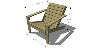 Free Woodworking Plans To Build A Cb2 Inspired Sawyer Adirondack