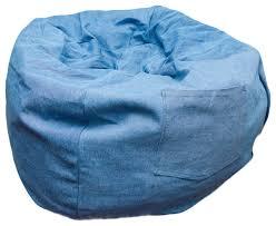 small beanbag denim