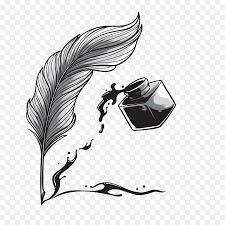 pen quill calligraphy drawing vector quill pen
