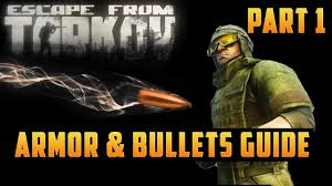 Escape From Tarkov Bullet Damage Chart Armor And Bullets Guide Ballistics Bullet Penetration Armor Resistance Escape From Tarkov