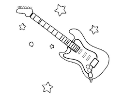 There are 73 guitar coloring page for sale on etsy, and they cost $2.78 on average. Coloring Pages Electric Guitar Coloring Page