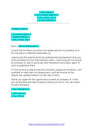 A Resignation Letters Resignation Letters Download Pdf Doc Format