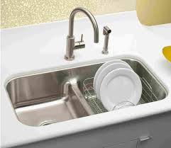Kitchen  Graceful Top Mount Stainless Steel Kitchen Sinks Ikea Luxury Kitchen Sinks