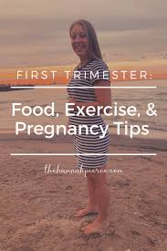 first trimester pregnancy tips for