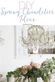 chandelier makeover ideas