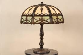 antique glass lamp shade repair lamp design ideas