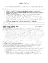 Financial Analyst Resume Example Best Of Senior Financial Analyst Resume Samples Financial Analyst Resume
